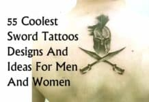 best sword tattoos designs and ideas for men and women-min