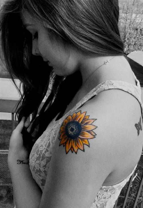 flower tattoos designs for men women