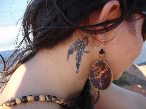 Best ear tattoos designs ideas pics images