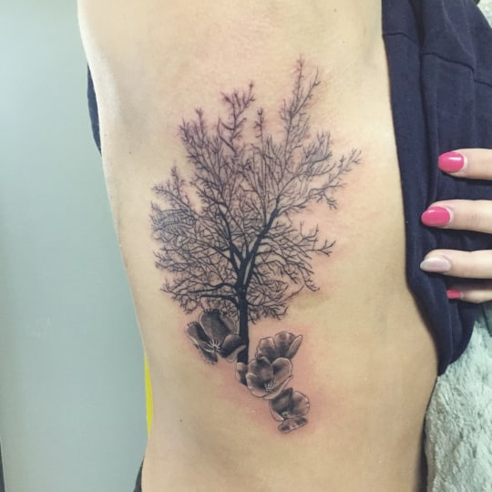 Tattoo For Womens: 58 Coolest Tree Tattoos Designs And Ideas