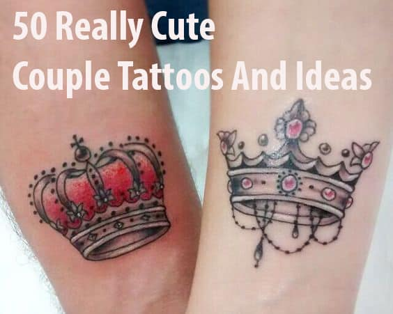 5b9af4ba1 50 Really Cute Couple Tattoos And Ideas To show Their Love