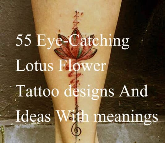 Best lotus tattoos designs ideas