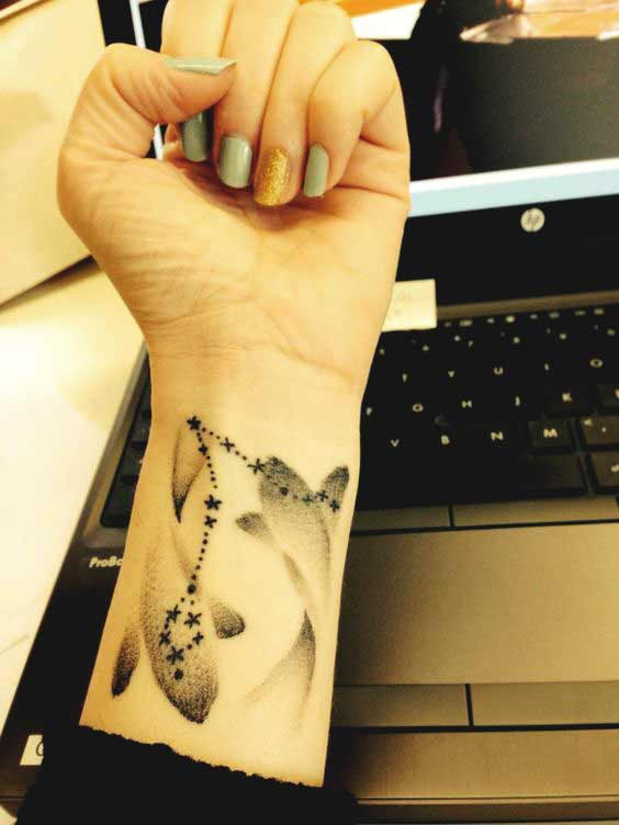 Best Pisces tattoos designs