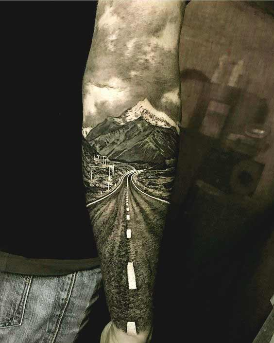 Great forearm tattoo design