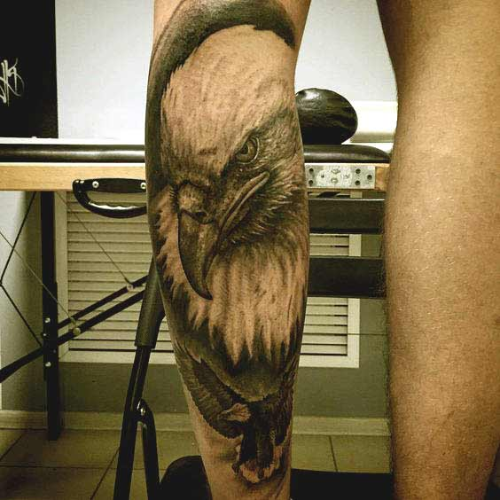 3d eagle tattoos designs