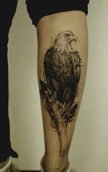 American eagle traditional tattoos designs