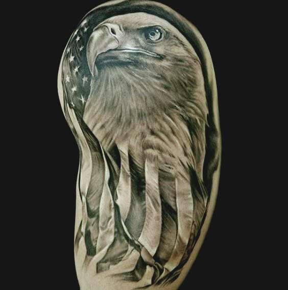 Bald eagle tattoos