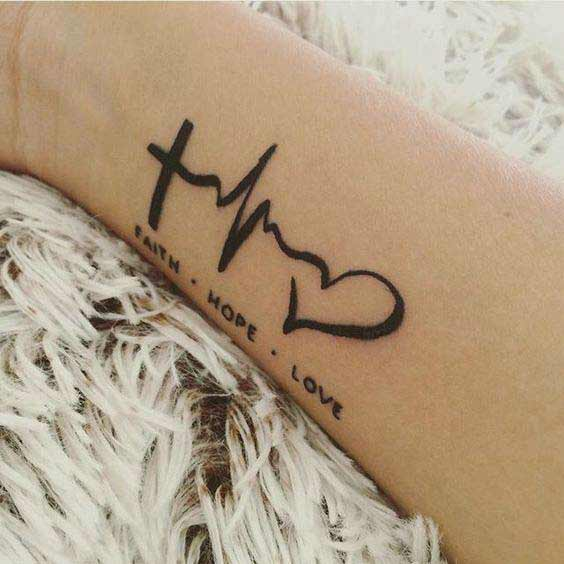 Tattoo designs love symbol