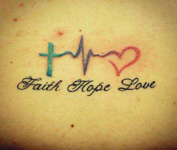 53c7c14844f4a 45 Perfectly Cute Faith Hope Love Tattoos And Designs With Best ...