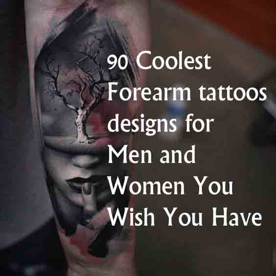 1f1e7a3132135 90 Coolest Forearm tattoos designs for Men and Women You Wish ...