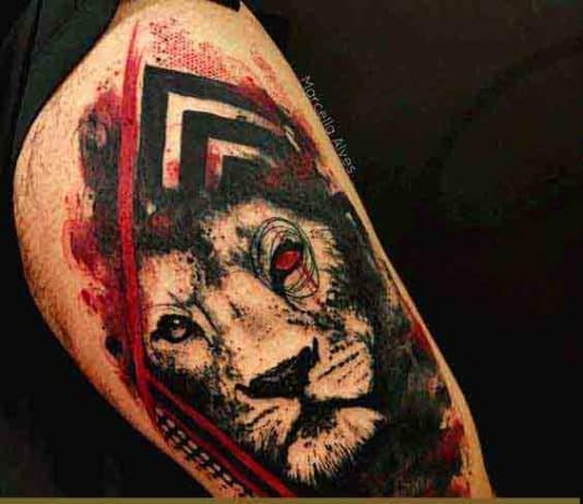Best-lion-tattoos-for-men