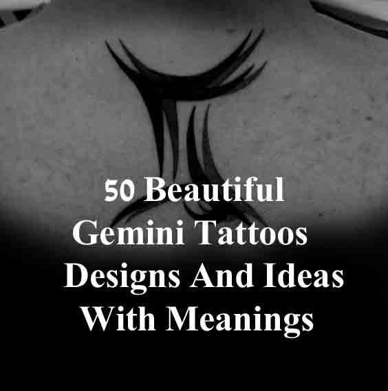 b343d3b5548d4 50 Beautiful Gemini Tattoos Designs And Ideas With Meanings
