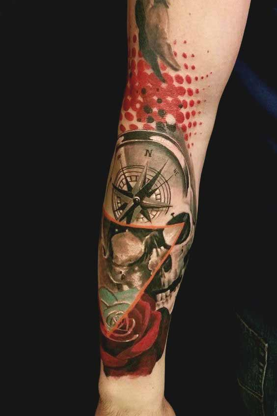 unique forearm tattoos