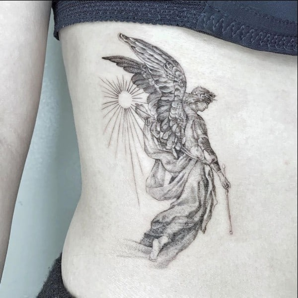 Guardian Angel Tattoo Drawing Best Tattoo Ideas