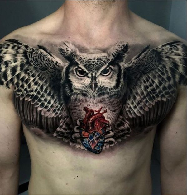 50 Best Owl Tattoo Designs And Ideas Tattoos Me Best Induced Info